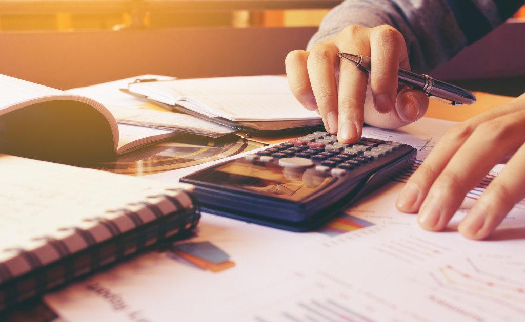 calculating a budget