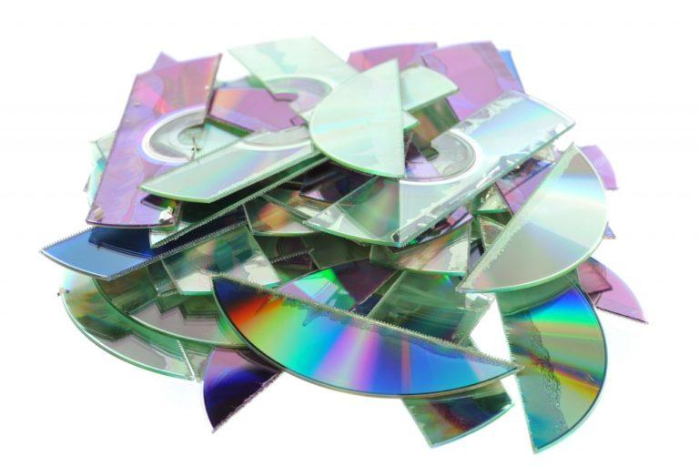 broken cds