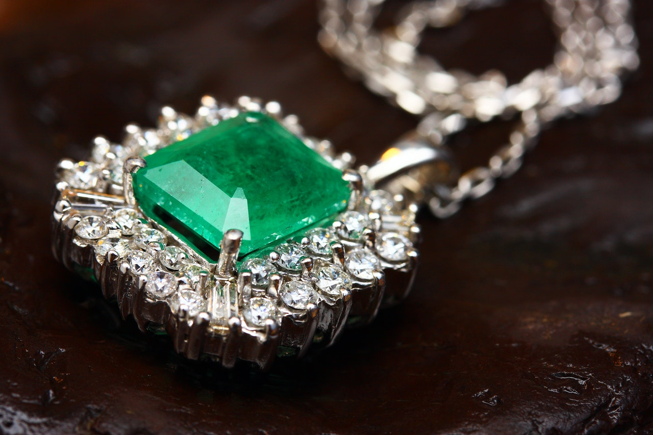 gem stone in a jewelry